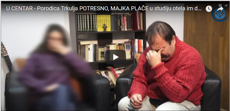 Почело отимање деце у Србији: узета девојчица породици Тркуља