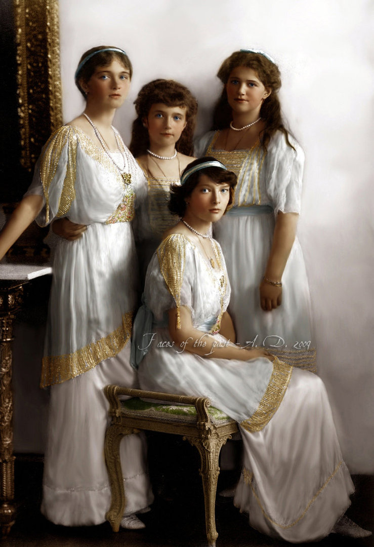 Romanov Angels by VelkokneznaMaria