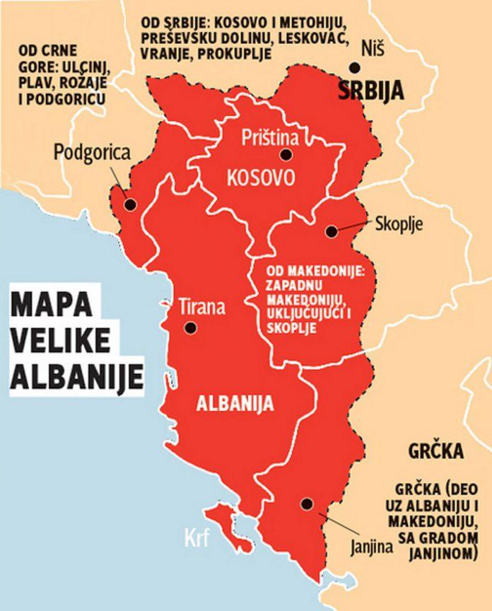 velika albanija